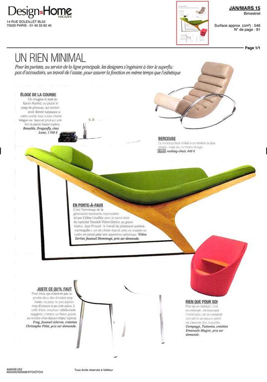 Design @ home 2015 - CP CONSEIL